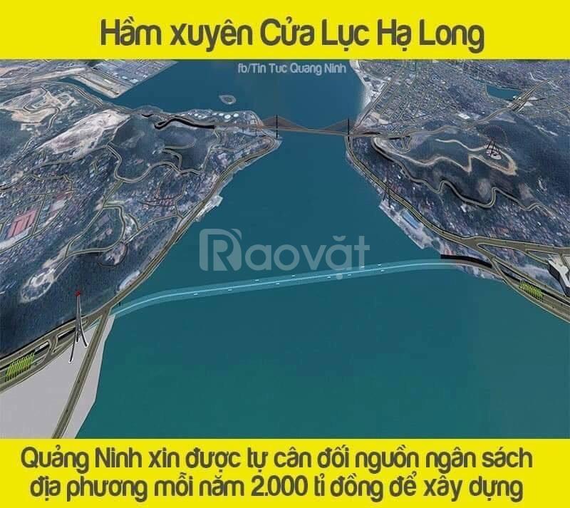 Bán căn LT-19 mặt đường Hạ Long QN - mua nhanh để đón sóng hầm cửa lục