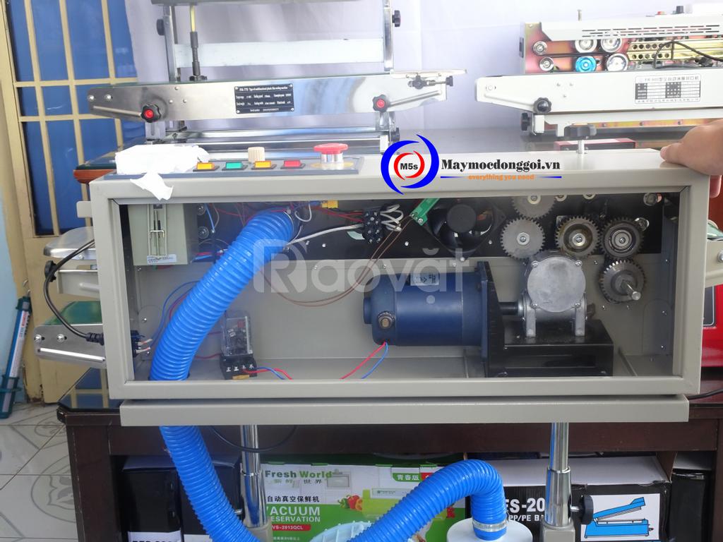 Sản phẩm mới: máy hàn miệng túi liên tục thổi khí DBP-1000