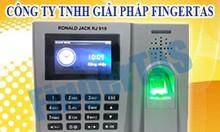 Thiết bị máy chấm công rj 919 lắp đặt tại Đồng Nai hàng chính hãng