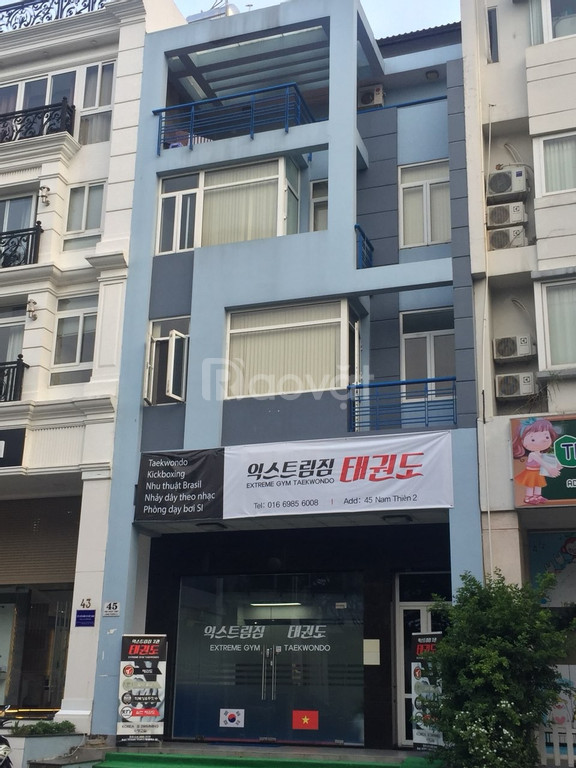 Cho thuê nhà phố 7x18m khu Nam Thiên, Phú Mỹ Hưng nhà mới đẹp