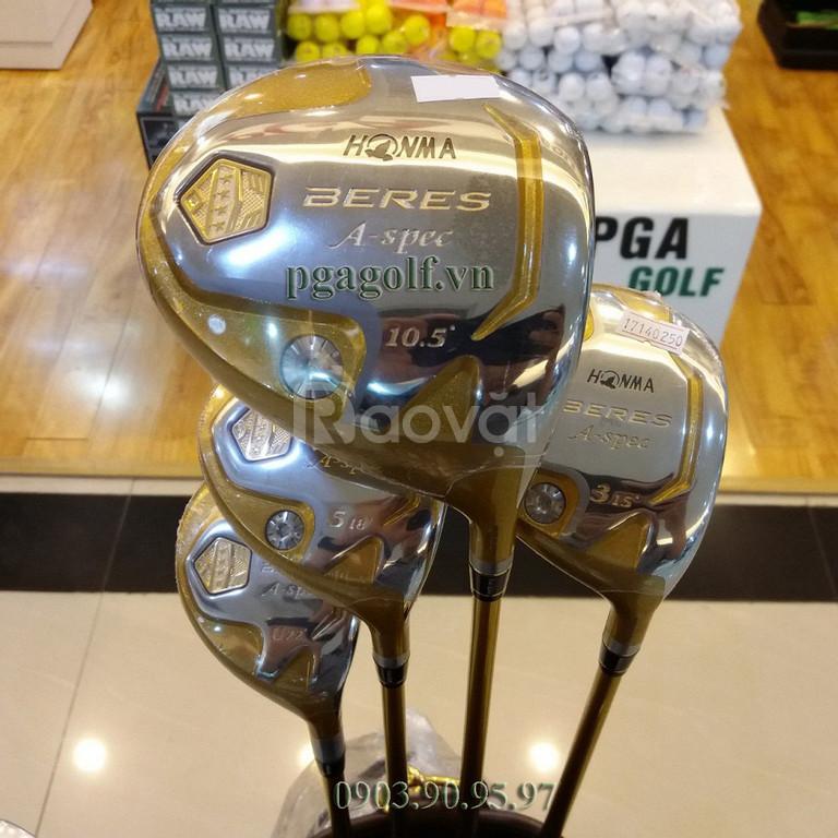 Fullset bộ gậy golf 4 sao Honma Aspec chính hãng