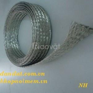 Dây đồng bện đục lỗ 2 đầu- dây đồng bện (thiết bị điện)- cáp đồng bện