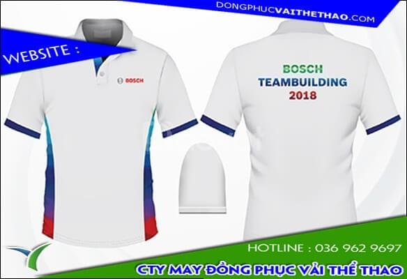 Xưởng may những mẫu áo thun đồng phục team building đẹp vải 4 chiều