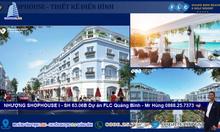 Chính chủ cần bán shophouse Oyter plus  I–SH 63.06B, flcQuảng Bình