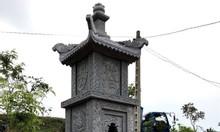 Làm mẫu mộ đôi đá – xây mộ tháp đá để hài cốt tại Sài Gòn
