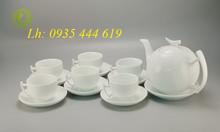 In ấm chén trà quà tặng, in gốm sứ giá rẻ tại Đà Nẵng