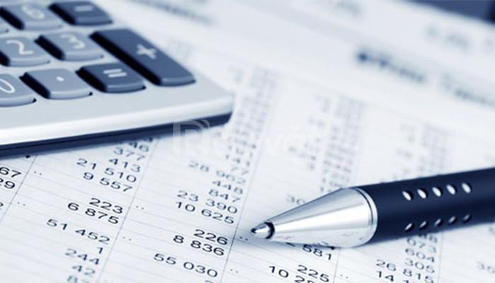 Báo cáo thuế, quyết toán thuế, sổ sách kế toán