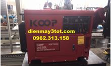 Máy phát điện chạy dầu 5kva chạy đủ công suất