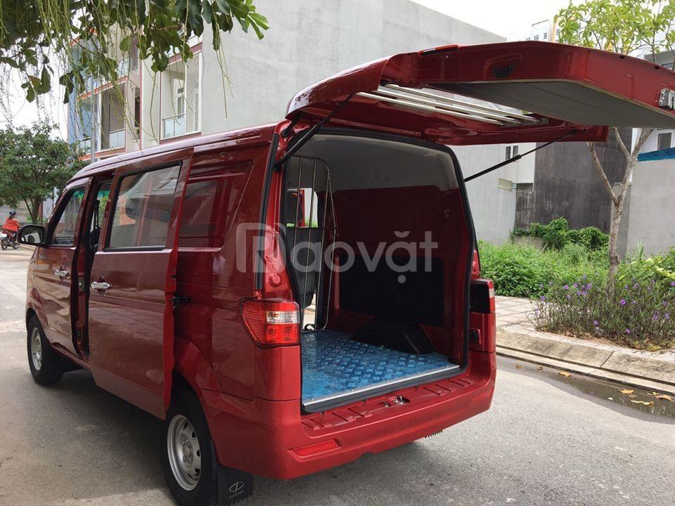 Xe tải Van Dongben 5 chỗ hỗ trợ vay ngân hàng tối đa
