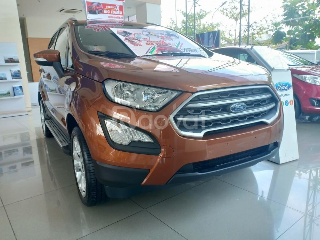 Ford Ecosport,tặng ngay bảo hiểm vật chất và phụ kiện