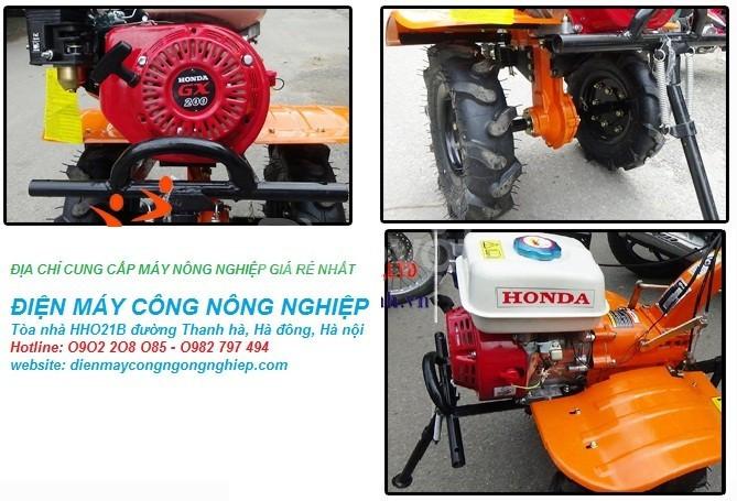 Bán máy xới đất mini Honda chính hãng GX200 giá rẻ