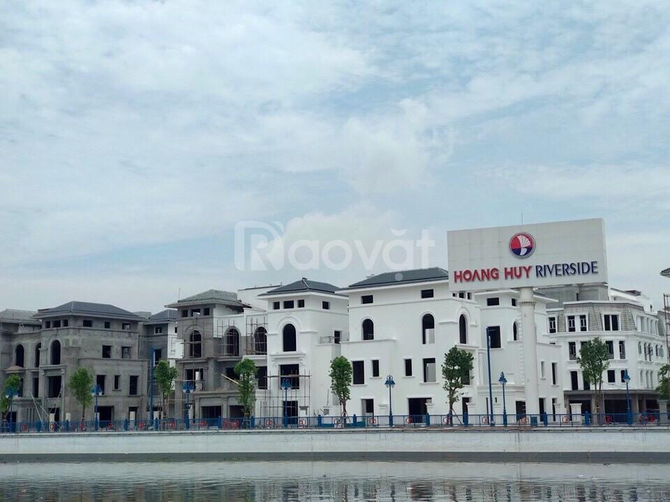 Mua nhà Hoàng Huy Riverside Hải Phòng giá chuẩn ck cao và tặng ngay xe