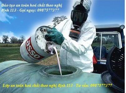Học an toàn hoá chất theo nghị định 113 toàn quốc (ảnh 1)