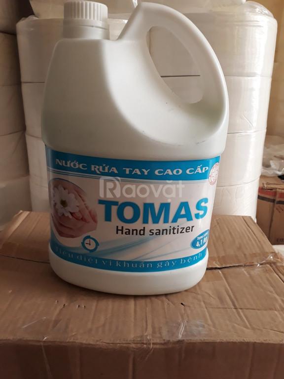 Cung cấp nước rửa tay tomas 4,1 lít