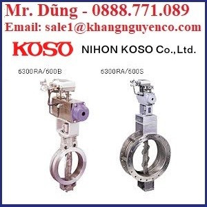 Van công nghiệp Koso – Koso Việt Nam