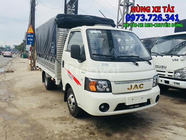 Xe tải nhẹ JAC 1 tấn thùng 3m2 đời 2019, hỗ trợ trả góp