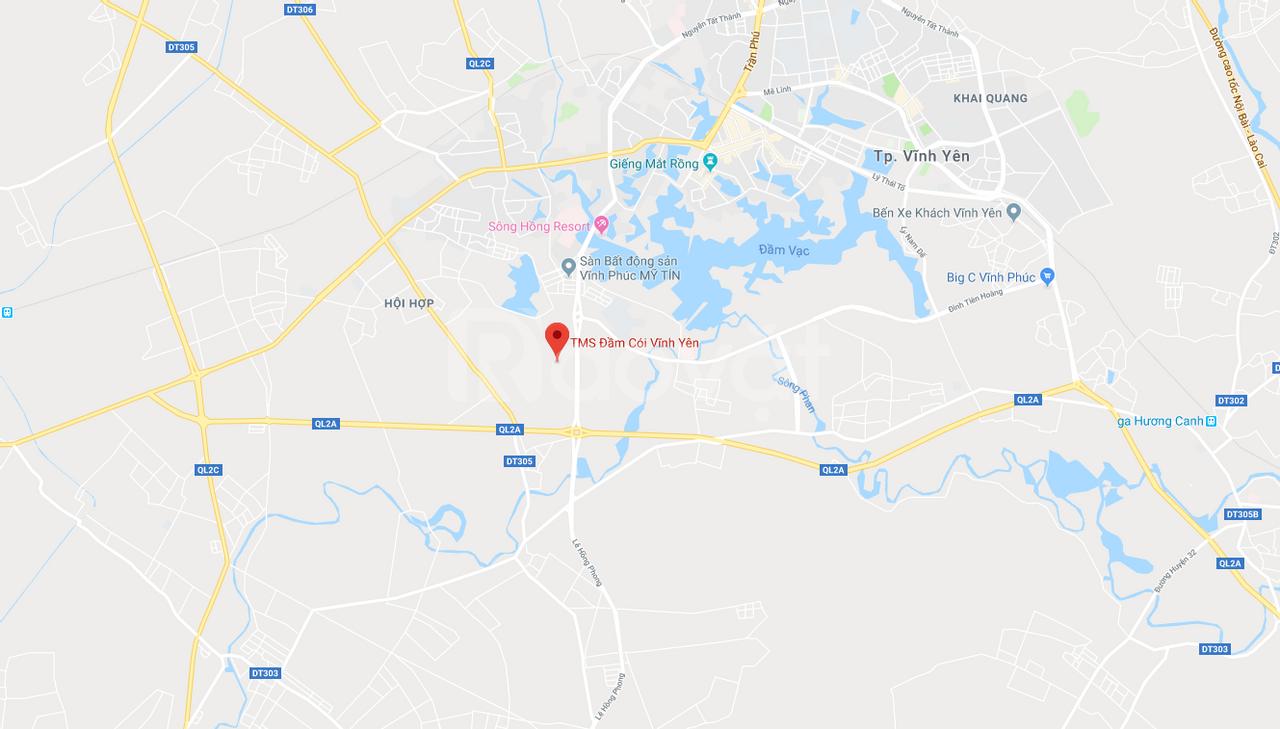 Khu đô thị tms đầm cói vĩnh Yên- Tms Apoline liên hệ CĐT