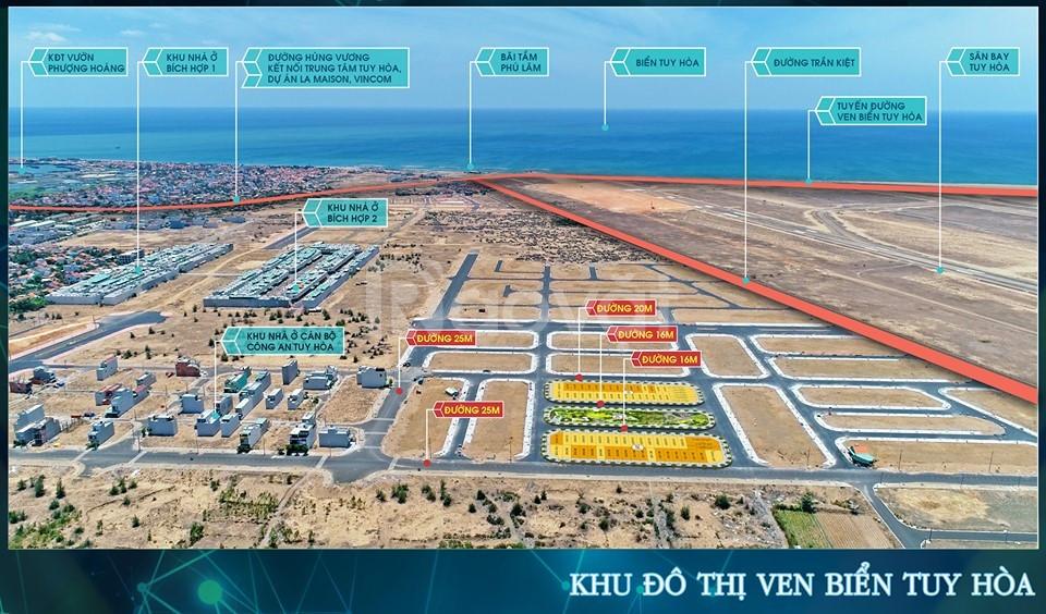 Đất nền ven biển thành phố Tuy hòa Phú Yên giá chỉ 1,6 tỷ