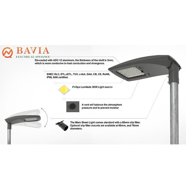 Đèn đường Led BAVIA BA-SA42-200W (ảnh 5)