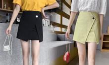 {Chân váy công sở nữ bigsize} Chân váy ngắn kiểu bigsize