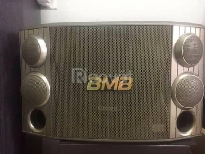 Bán loa karaoke hãng BMB CS 450 từ kép giá 1tr300k