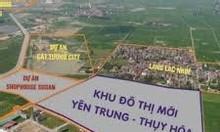 Bán đất nền dự án KĐT Yên Trung Thụy Hòa, Yên Phong, Bắc Ninh