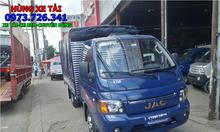 Xe tải JAC 1t4 thùng dài 3m2 trả trước 40 triệu có xe.