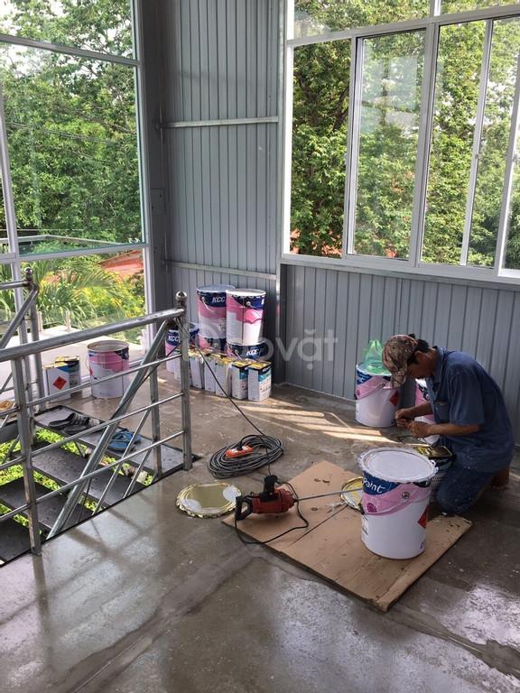 Cung cấp sơn Epoxy KCC ET 5660 phủ cho sàn bê tông giá tốt