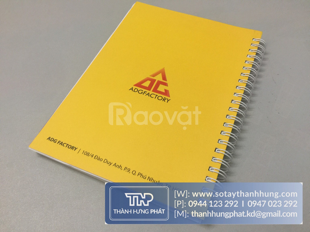 In sổ tay quà tặng giá rẻ cho các doanh nghiệp tại TP HCM