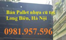 Pallet nhựa cũ giá rẻ tại Hà Nội