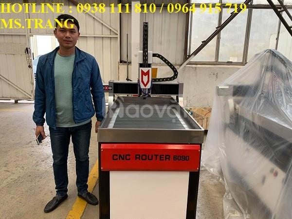 Máy cnc đục gỗ, máy cnc điêu khắc gỗ 6090