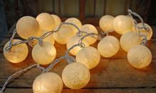 Đèn trang trí phòng cho bé - Đèn cotton ball - 165k