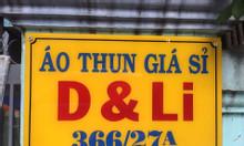 Tuyển 5 lao động phổ thông phụ xếp đồ đóng gói áo thun tại Bình Tân