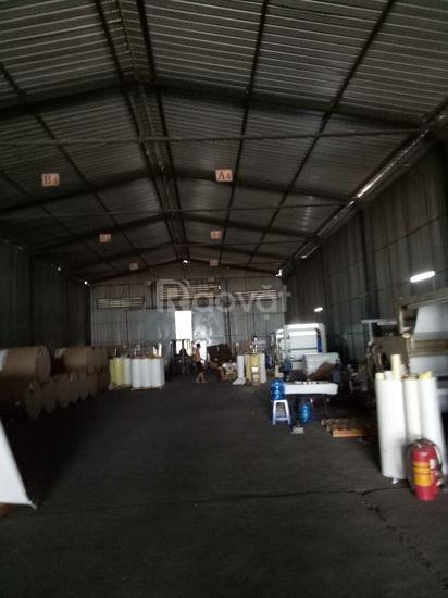 Cho thuê kho xưởng tại KCN Sóng Thần -  2500m - 90000/m2