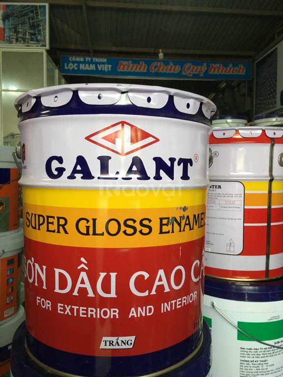 Sơn dầu Galant màu trắng 17,5L