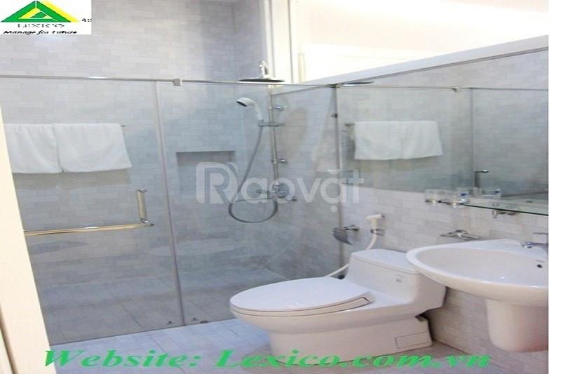 Cho thuê căn hộ 2 phòng ngủ và sân vườn tại Tdplaza- Hải Phòng