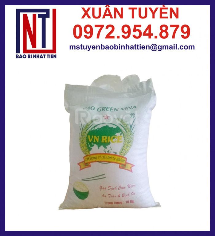 Bao đựng gạo in flexo