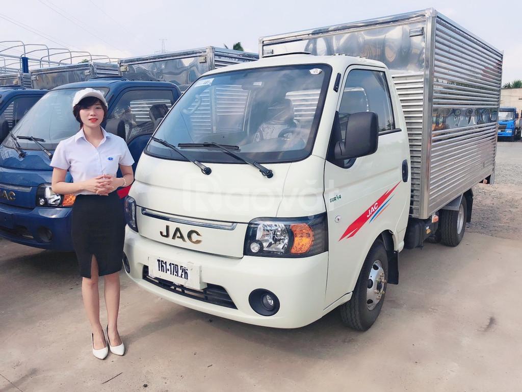 Xe tải jac 1,5 tấn/ jac 1t2 X5/ Jac 990kg xe sẵn nhận ngay