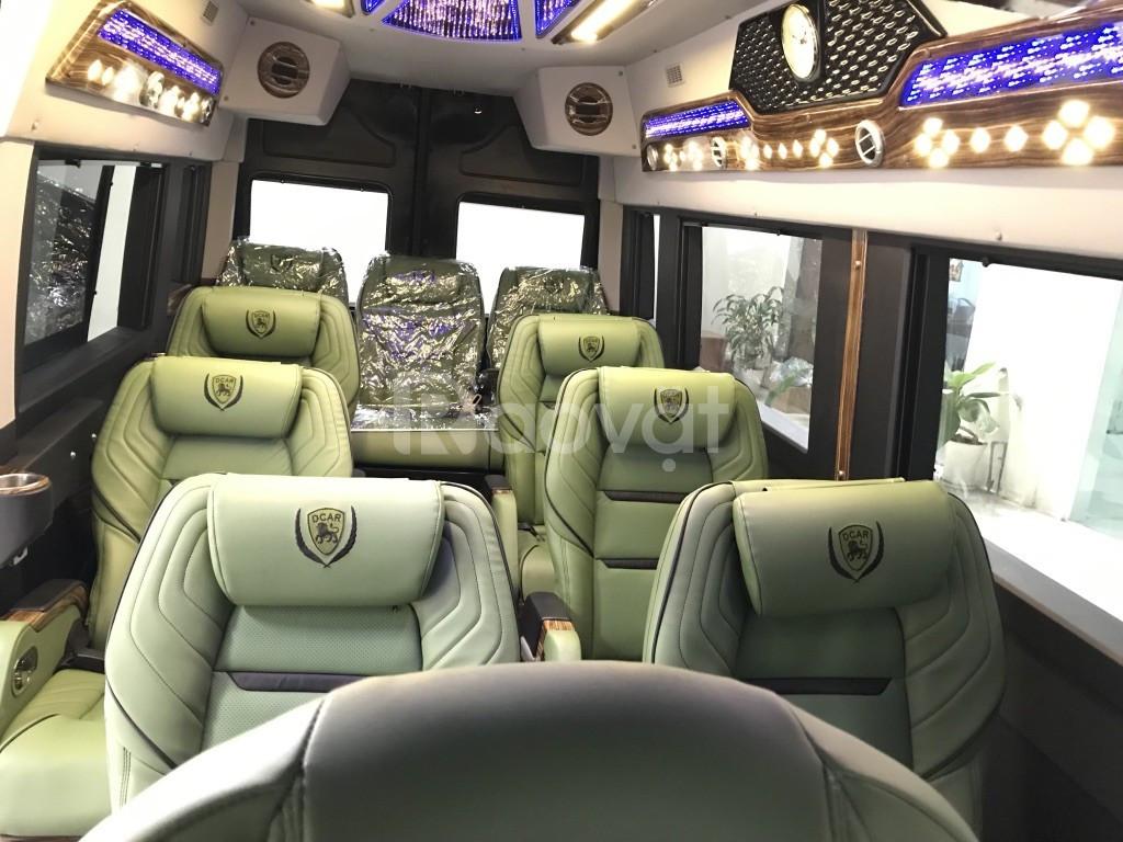 Thuê xe limousine solati 12 chỗ giá rẻ