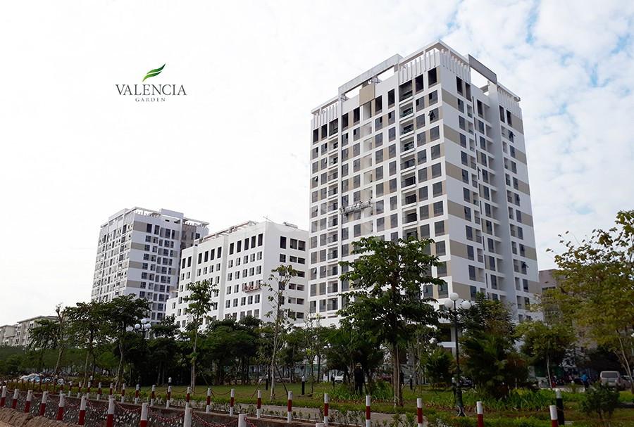 Mua nhà ở ngay - Căn ngoại giao dự án Valencia Garden Việt Hưng 1,4 tỷ