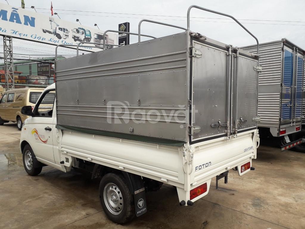 Xe tải Foton 1.5L thùng bạt đời 2019