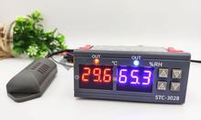 Bộ khống chế nhiệt độ, độ ẩm STC-3028 12VDC