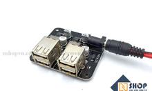 Mạch giảm áp 5V 4 cổng USB (sạc điện thoại)