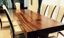 Bán mặt bàn gỗ nguyên tấm