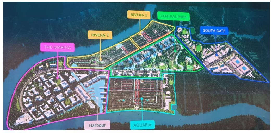 Đón đầu hạ tầng cùng dự án nhà đất Water Point Bến Lức