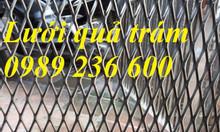 Sản xuất lưới hình thoi 20x40; 30x60; 45x90 dây 2 ly, 3ly , 4ly giá rẻ