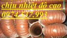 Nơi bán ống chịu nhiệt,ống dẫn khí nóng giá rẻ (ảnh 5)