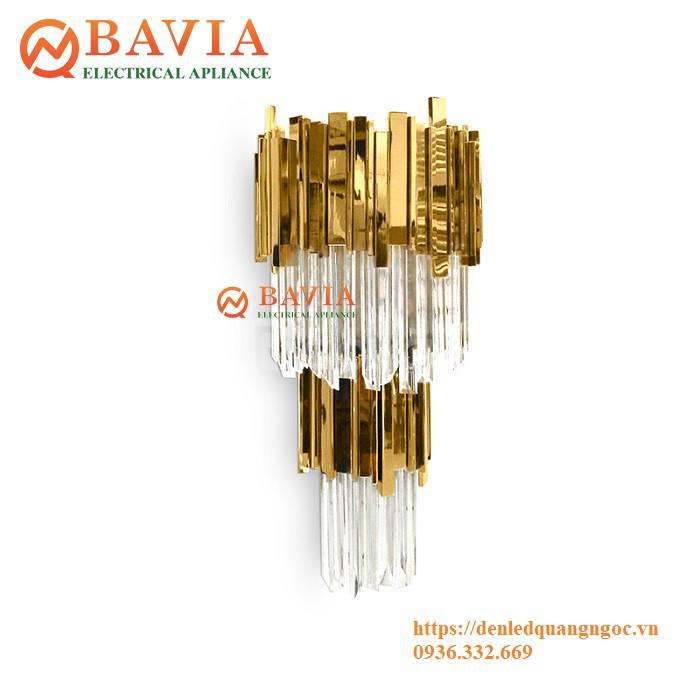 Đèn treo tường pha lê BAVIA ML-TD2140