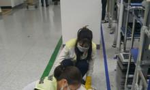 Chuyên dịch vụ vệ sinh thường xuyên nhà máy tại KCN Sông Lô