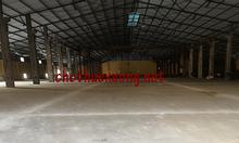 Cho thuê kho bãi nhà xưởng tại thành phố Bắc Giang DT 5005m2 giá tốt